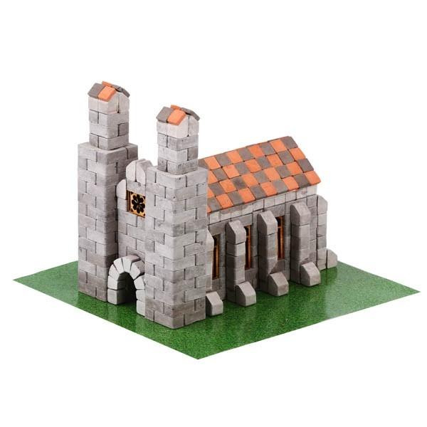 Kit constructie caramizi Wise Elk Biserica Germana 500 piese reutilizabile 0