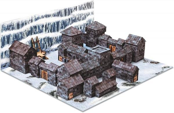 Kit constructie caramizi Wise Elk Castelul Negru 4300 piese reutilizabile 0