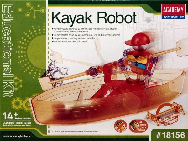 Kit constructie Edu Kit Robot cu barca si vasle 0