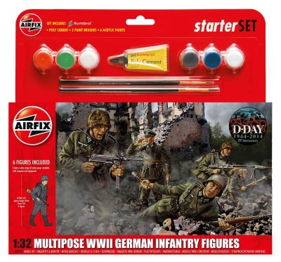 Kit constructie Infanterie Germana  0