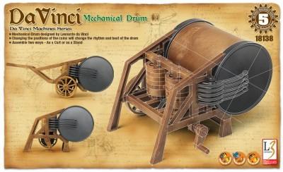 Kit constructie Toba mecanica functionala DaVinci 0