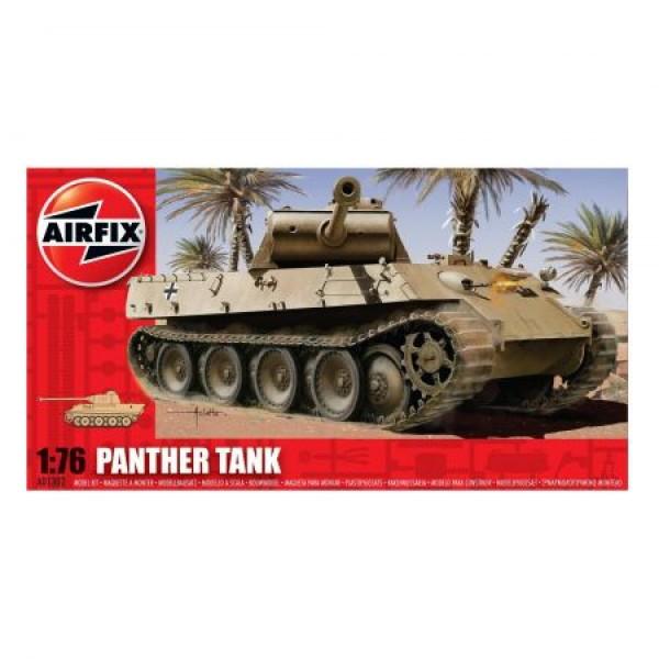 Kit modelism Airfix 01302 Tanc Panther Tank Scara 1:76 0