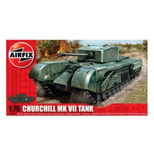 Kit modelism Airfix 01304 Tanc Churchill MkVII Scara 1:76 0