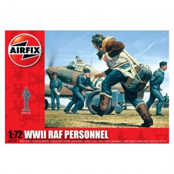 Kit soldati Airfix 01747 Set 45 soldati WWII Royal Air Force Marea Britanie scara 1:72 0