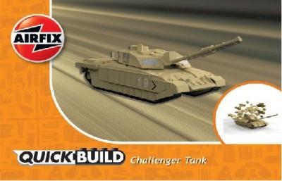 Macheta tanc de construit Challenger Tank 0