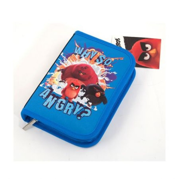 Penar Neechipat 1 ferm. 2 ext. Angry Birds Negru cu Albastru Pigna 0