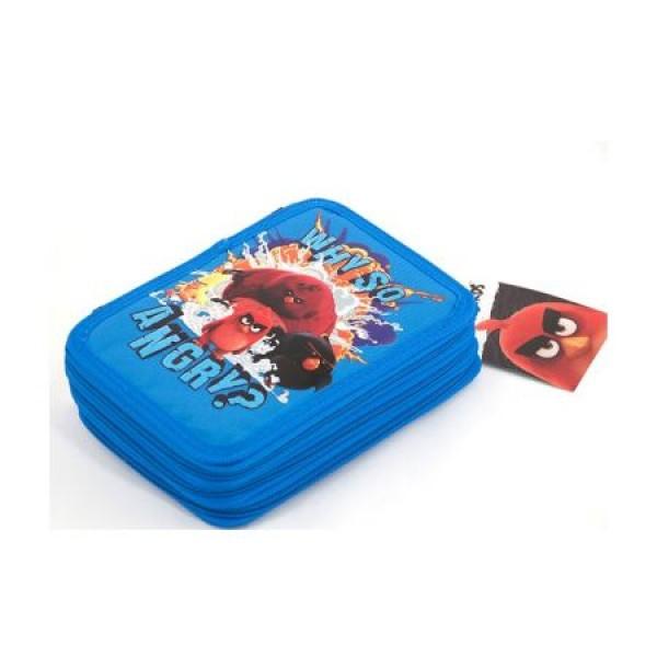 Penar Neechipat 3 fermoare Angry Birds Negru cu Albastru Pigna 0