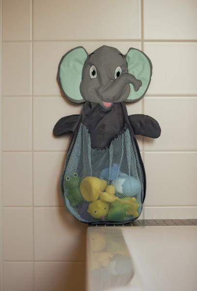 Plasa elefant pentru depozitare jucarii de baie BO Jungle 0