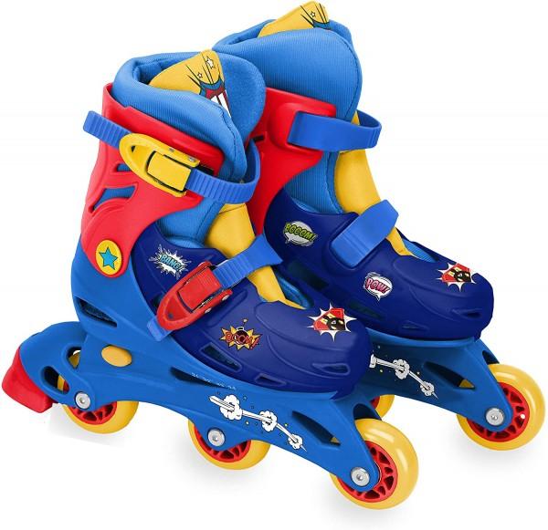 Role pentru copii cu 3 roti Saica 2234 Comic marime reglabila 27-30 roti interschimbabile frana de picior 0