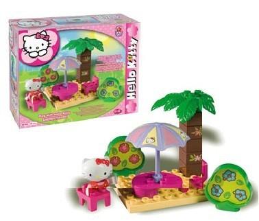 Set constructie Unico Plus Hello Kitty Picnic 0