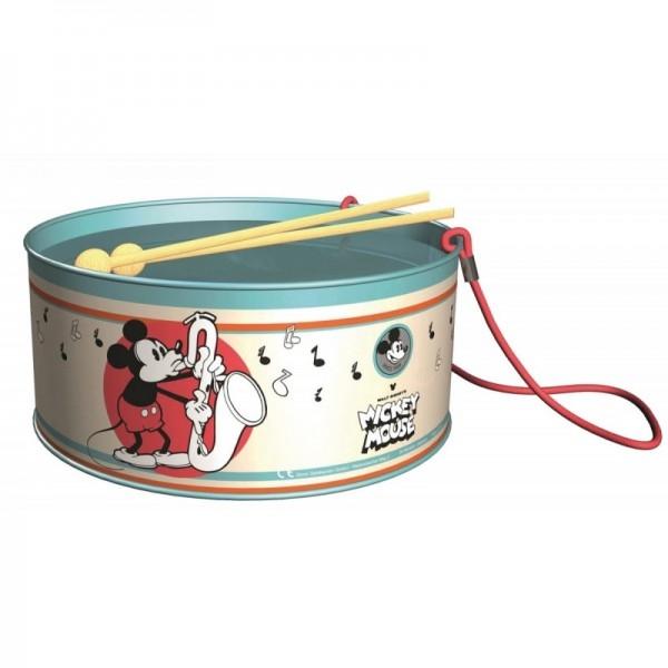 Toba Mickey Mouse din metal pentru copii 21 cm Lena cu bete lemn 0