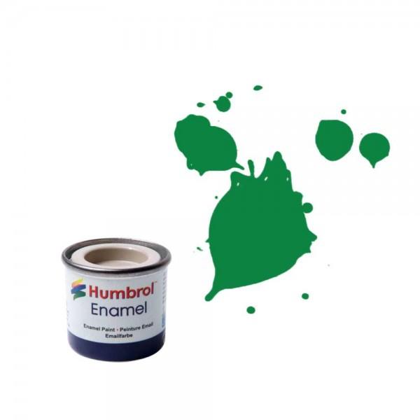 Vopsea modelism Humbrol 0028 Email Numar 2 Emerald Gloss  14 ml 0