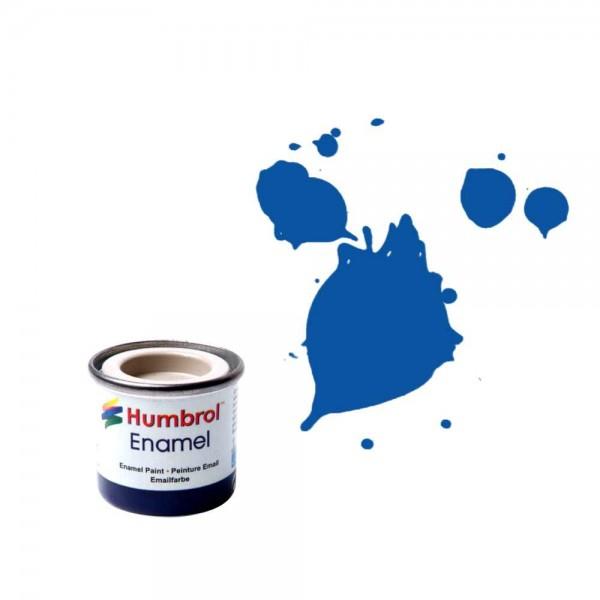 Vopsea modelism Humbrol 0151 Numar 14 French Blue Gloss 14 ml 0