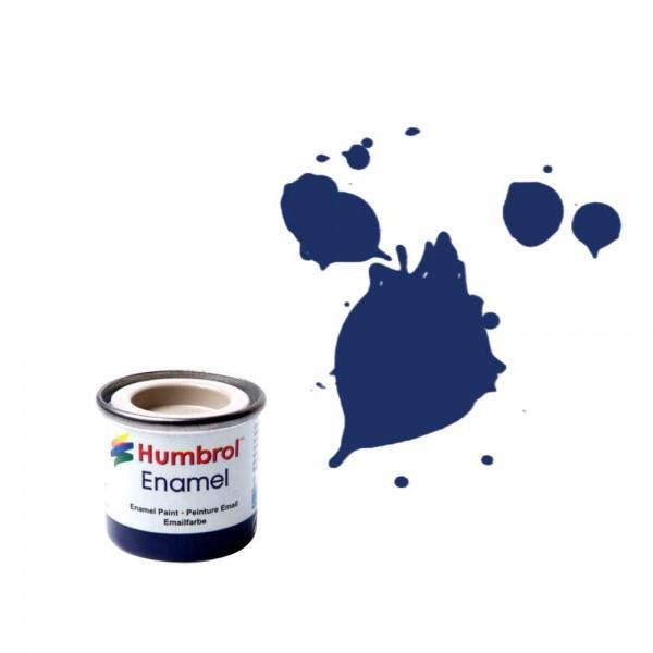 Vopsea modelism Humbrol 0165 Numar 15 Midnight Blue Gloss 14 ml 0