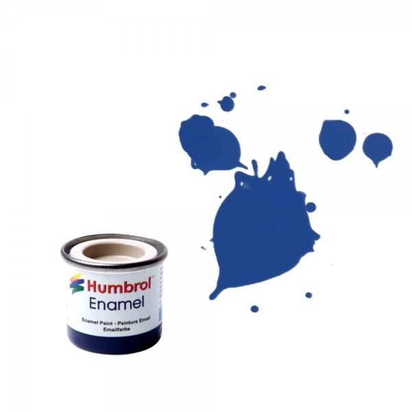 Vopsea modelism Humbrol 0271 Email Numar 25 Blue Matt 14 ml 0