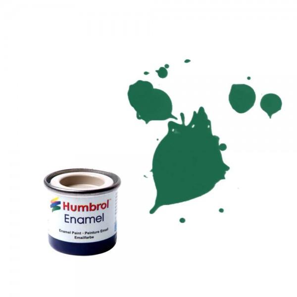 Vopsea modelism Humbrol 0326 Email Numar 30 Dark Green Matt 14 ml 0