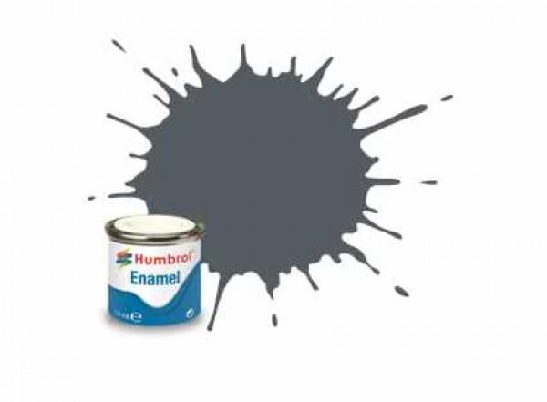 Vopsea modelism Humbrol 1376 Email Numar 125 US Dark Grey Satin 14 ml 0
