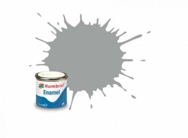 Vopsea modelism Humbrol 1420 Email Numar 129 US Gull Grey Satin 14 ml 0