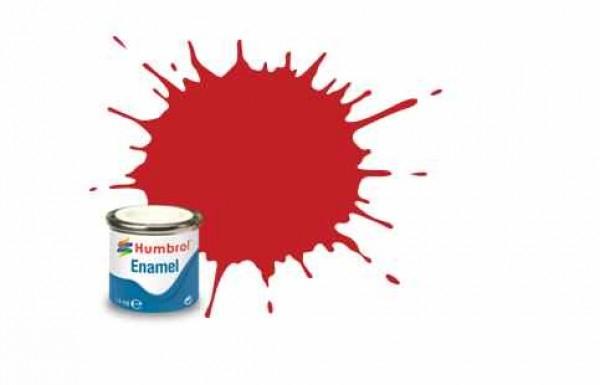 Vopsea modelism Humbrol 6608 Email Numar 220 Italian Red Gloss 14 ml 0