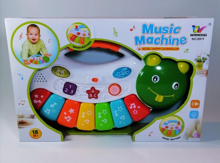 Jucarie muzicala, multicolor +18 luni [0]