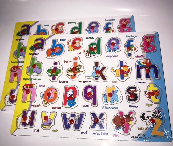 Tabla Alfabetul animalelor in limba romana, Plansa 1