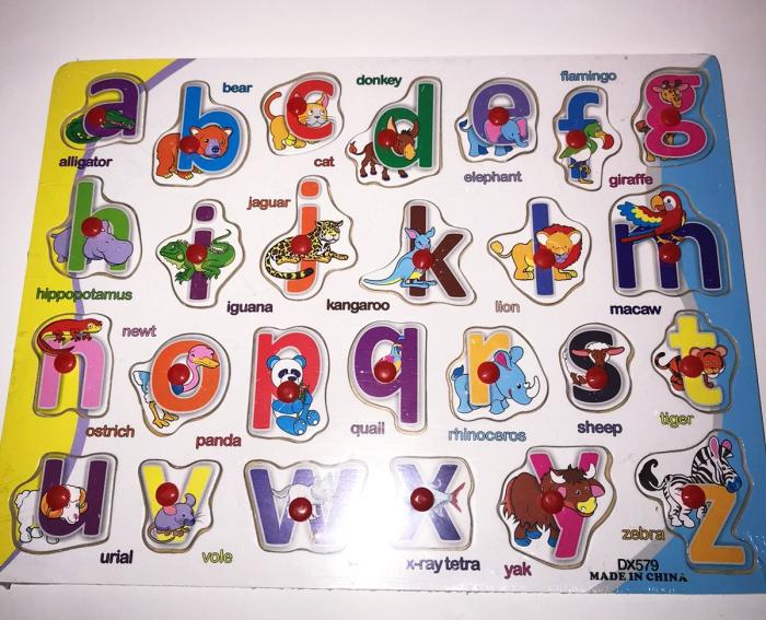 Tabla Alfabetul animalelor in limba romana, Plansa 0