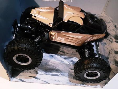 Masinuta monster truck metalica off-road 4x4 cu telecomanda RC, acumulator reincarcabil, Car Climbing Metal, sc 1:14 [0]