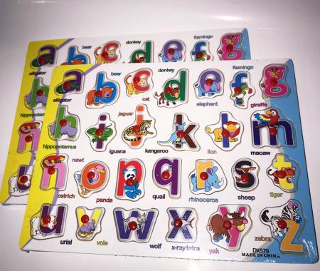 Tabla Alfabetul animalelor in limba romana, Plansa1