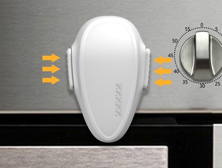 butoane laterale pentru deblocare siguranta