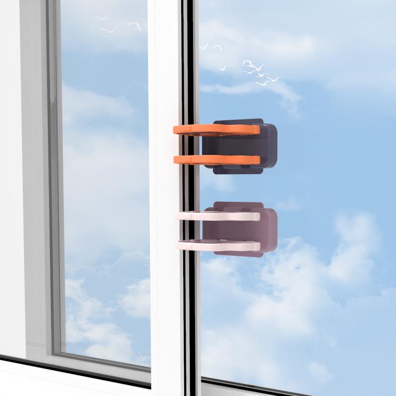 sistem de blocare aplicat pe fereastra