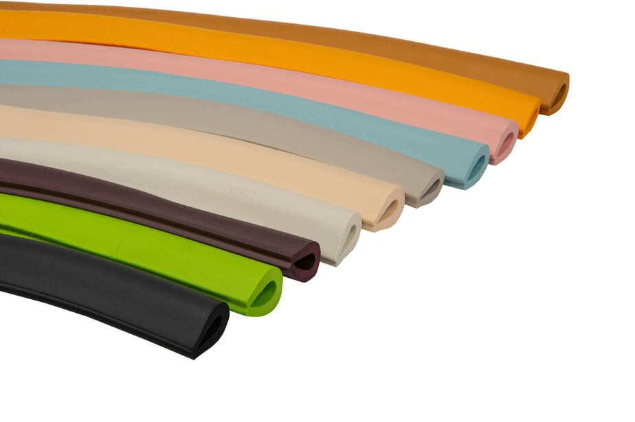 Varietate de culori pentru benzile de protectie in forma U