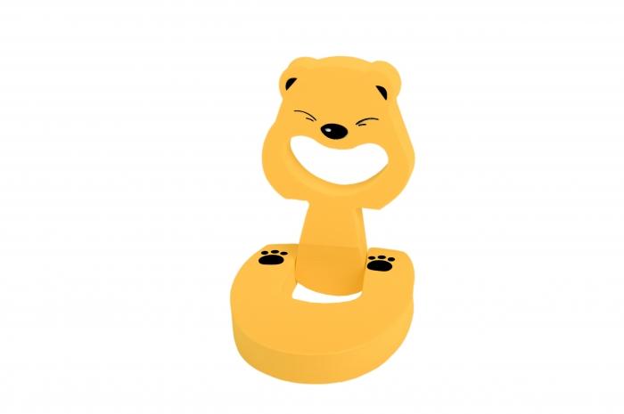 Set portocaliu din 2 bucati - opritoare usa Panda_Buy4Baby 0