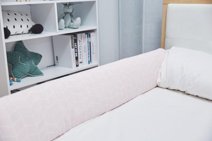 Aparatoare laterala pat 150 cm - bumper flexibil 5