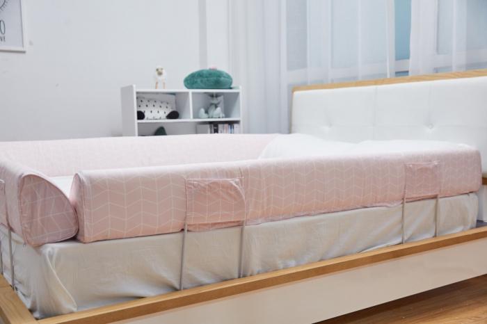 Aparatoare laterala pat 150 cm - bumper flexibil 0