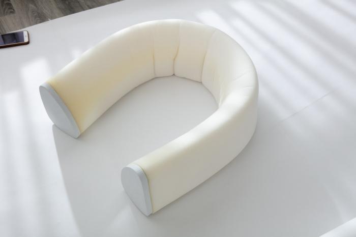 Aparatoare laterala pat 150 cm - bumper flexibil 3