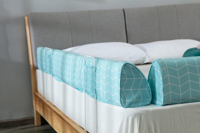 Aparatoare pat copii 180 cm - spuma cu memorie 6