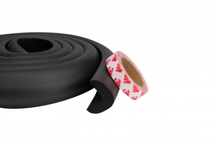 Banda protectie groasa maro pentru muchii si margini 3.5x1.2x200 cm_Buy4Baby 1