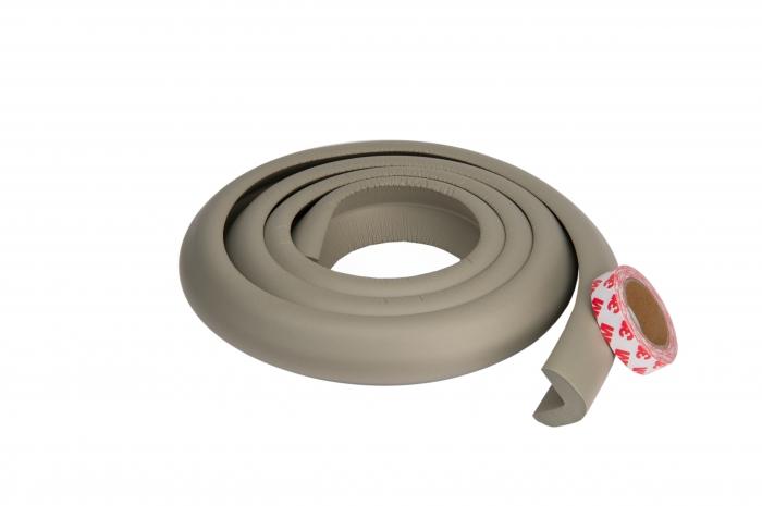 Banda protectie groasa maro pentru muchii si margini 3.5x1.2x200 cm_Buy4Baby 0