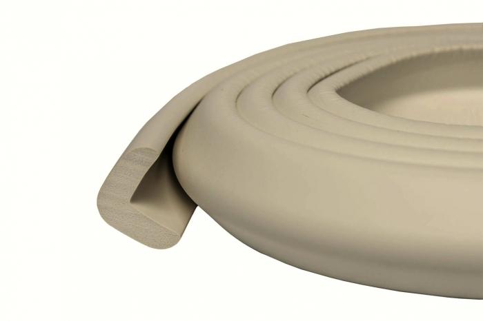 Banda protectie subtire maro pentru muchii si margini 2.3x0.9x200 cm_Buy4Baby 1