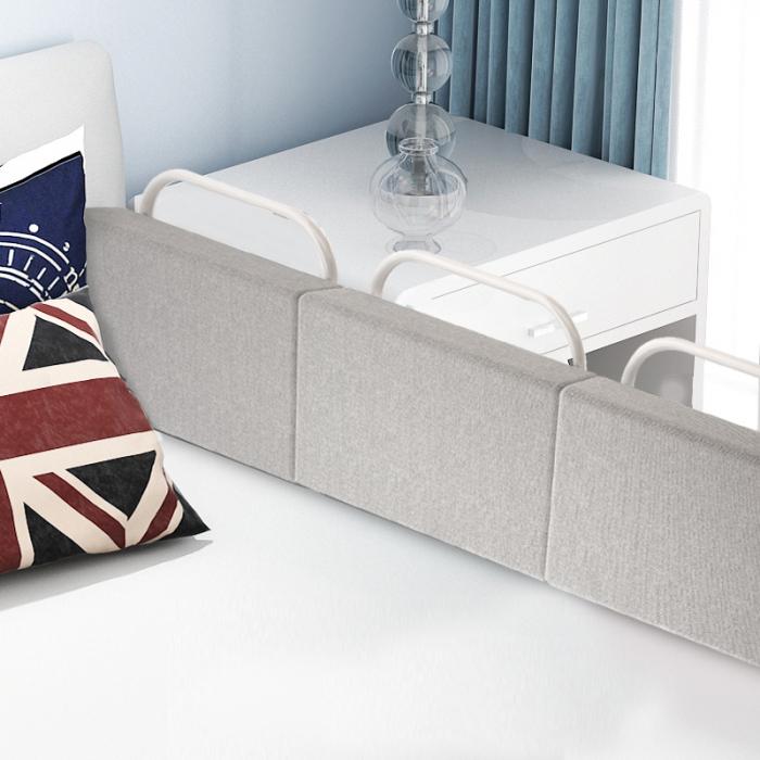 RESIGILATA - Mini-Bumper protectie pat,  50(L)*28(H) cm, Diverse culori 2