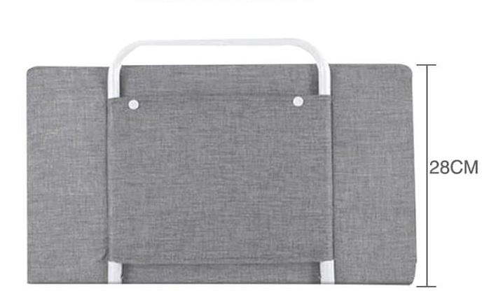 RESIGILATA - Mini-Bumper protectie pat,  50(L)*28(H) cm, Diverse culori 0
