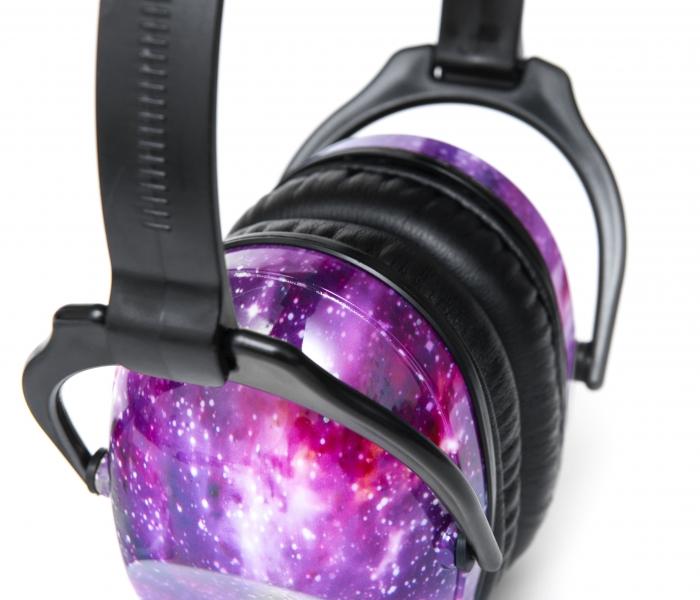 Casti antifonice pentru copii Purple Galaxy 4