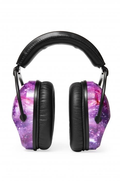 Casti antifonice pentru copii Purple Galaxy 2
