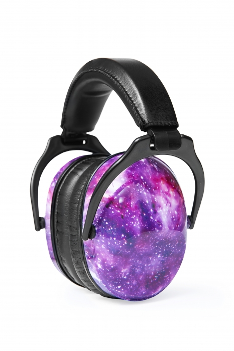 Casti antifonice pentru copii Purple Galaxy 0