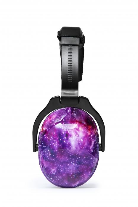 Casti antifonice pentru copii Purple Galaxy 1