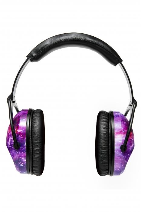 Casti antifonice pentru copii Purple Galaxy 5