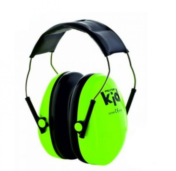 Casti de protectie auditiva pentru copii Peltor Kid, verde neon [0]