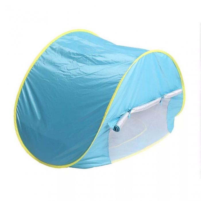 Cort de plaja cu protectie UV pentru bebelusi, 117x79x70 cm [3]