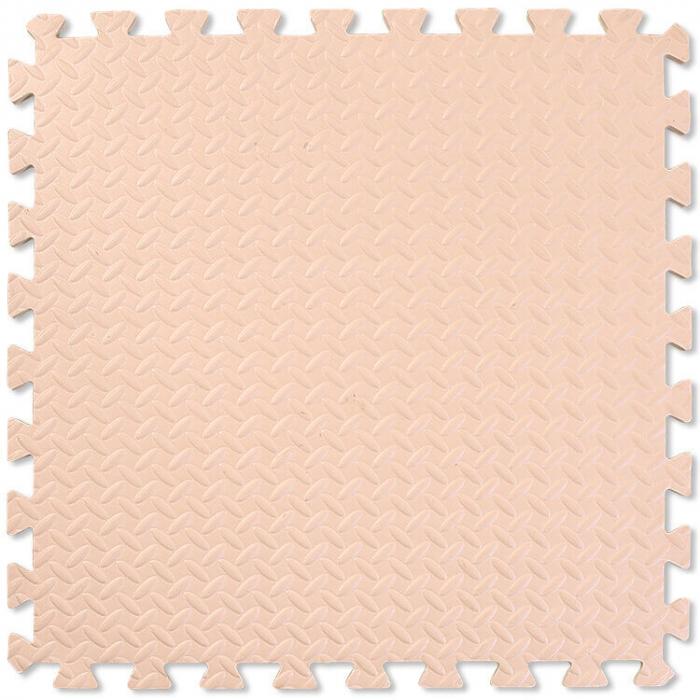 Covoras moale puzzle 4 bucati extra groase, 60 60 2.5 cm, diverse culori