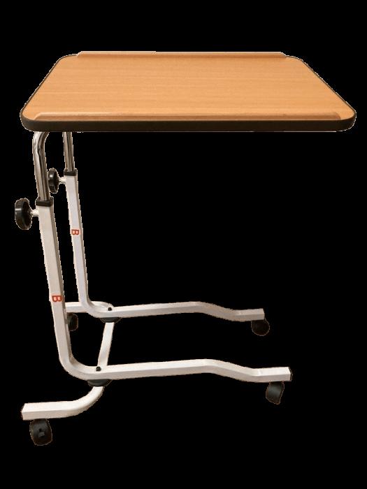Masa pentru servit la pat, multifunctionala, reglabila, cu roti, 54 x 40 cm [0]